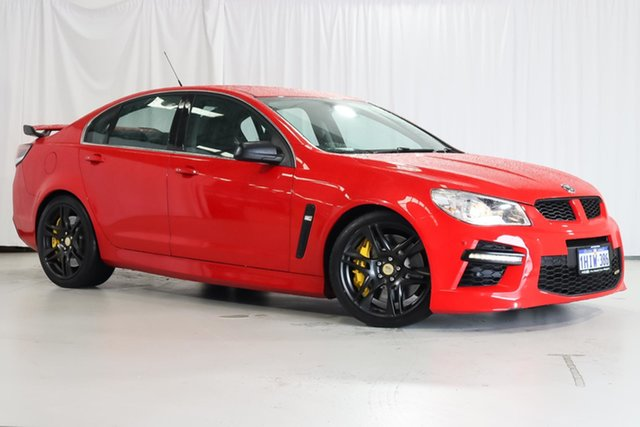 Used Holden Special Vehicles GTS Gen-F MY14 Wangara, 2014 Holden Special Vehicles GTS Gen-F MY14 Red 6 Speed Sports Automatic Sedan