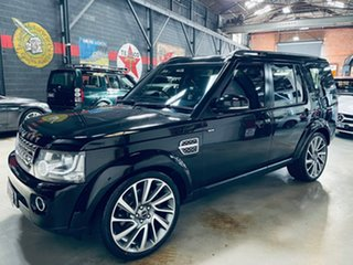 2015 Land Rover Discovery Series 4 L319 MY16 HSE Black 8 Speed Sports Automatic Wagon