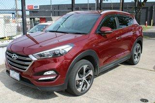 2016 Hyundai Tucson TLE Elite AWD Red 6 Speed Sports Automatic Wagon.