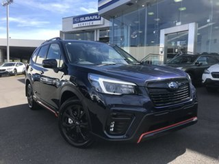 2021 Subaru Forester S5 MY21 2.5i Sport CVT AWD Dark Blue Pearl 7 Speed Constant Variable Wagon.