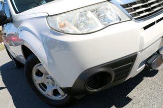 2008 Subaru Forester 79V MY08 X AWD White 4 Speed Automatic Wagon.