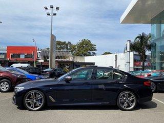 2020 BMW M550i G30 xDrive Carbon Black Metallic 8 Speed Auto Steptronic Sport Sedan