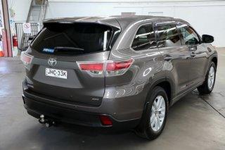 2016 Toyota Kluger GSU55R GX AWD Grey 6 Speed Sports Automatic Wagon