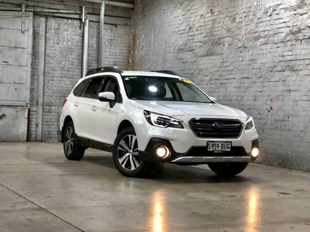Used Subaru Outback B6A MY17 2.5i CVT AWD Mile End South, 2017 Subaru Outback B6A MY17 2.5i CVT AWD White 6 Speed Constant Variable Wagon