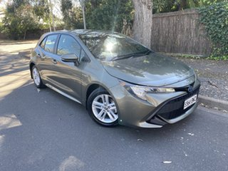2018 Toyota Corolla ZWE211R Ascent Sport E-CVT Hybrid Brown 10 Speed Constant Variable Hatchback.