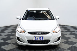 2017 Hyundai Accent RB5 MY17 Sport White 6 Speed Sports Automatic Hatchback