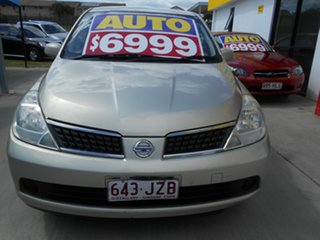 2006 Nissan Tiida C11 ST Gold 4 Speed Automatic Hatchback.