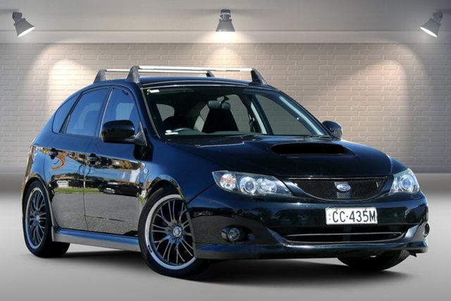 Used Subaru Impreza S MY07 WRX AWD Gepps Cross, 2007 Subaru Impreza S MY07 WRX AWD Black 5 Speed Manual Hatchback