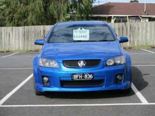 2009 Holden Commodore VE SS V Voodoo Blue Automatic Sedan