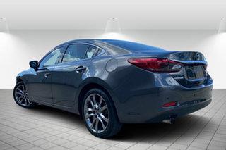 2017 Mazda 6 GL1031 Atenza SKYACTIV-Drive Grey 6 Speed Sports Automatic Sedan.