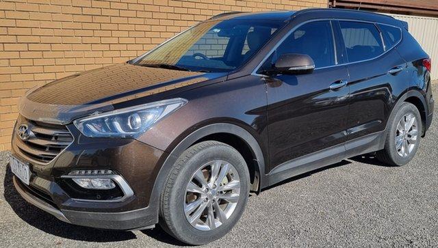 Used Hyundai Santa Fe DM3 MY17 Elite Horsham, 2016 Hyundai Santa Fe DM3 MY17 Elite Bronze 6 Speed Sports Automatic Wagon