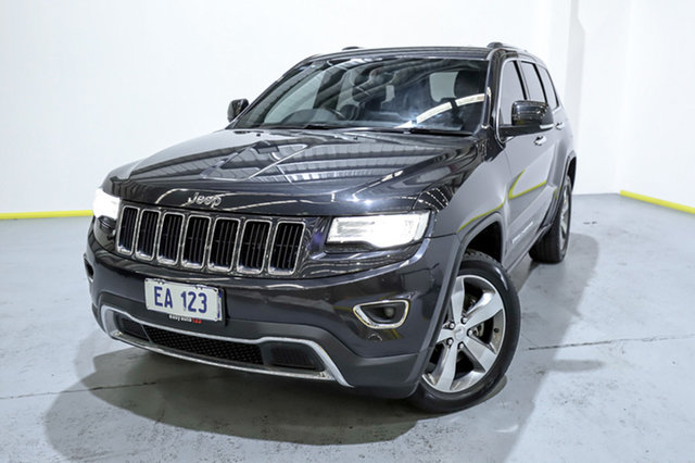 Used Jeep Grand Cherokee WK MY15 Limited Canning Vale, 2015 Jeep Grand Cherokee WK MY15 Limited Black 8 Speed Sports Automatic Wagon