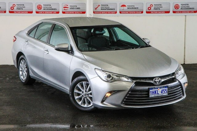 Pre-Owned Toyota Camry ASV50R MY16 Altise Rockingham, 2017 Toyota Camry ASV50R MY16 Altise Silver Pearl 6 Speed Automatic Sedan