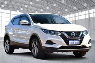 2020 Nissan Qashqai J11 Series 3 MY20 ST X-tronic White 1 Speed Constant Variable Wagon.