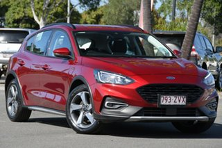 2020 Ford Focus SA 2020.25MY Active Ruby Red 8 Speed Automatic Hatchback.