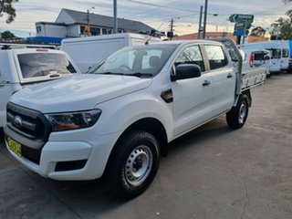2016 Ford Ranger PX MkII XL 3.2 (4x4) White 6 Speed Automatic Crew Cab Chassis.