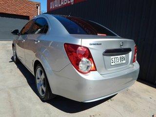 2013 Holden Barina TM MY14 CDX Silver 6 Speed Automatic Sedan