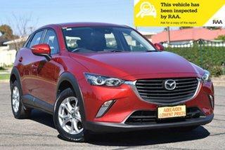 2018 Mazda CX-3 DK2W7A Maxx SKYACTIV-Drive Maroon 6 Speed Sports Automatic Wagon.
