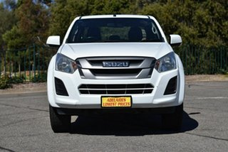 2017 Isuzu D-MAX MY17 SX Crew Cab 4x2 High Ride White 6 Speed Sports Automatic Utility.