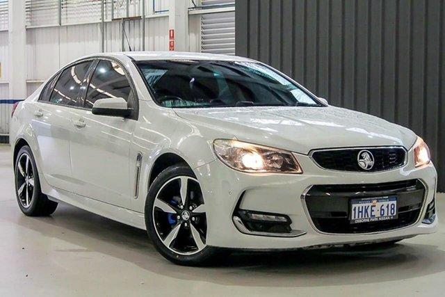 Used Holden Commodore VF II MY17 SV6 Osborne Park, 2017 Holden Commodore VF II MY17 SV6 White 6 Speed Sports Automatic Sedan