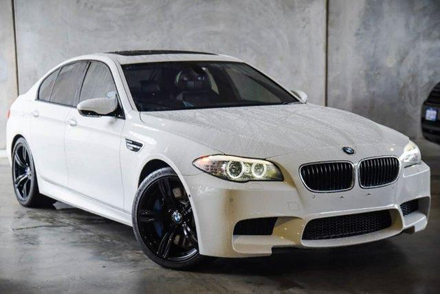 Used BMW M5 F10 MY12 M-DCT Osborne Park, 2012 BMW M5 F10 MY12 M-DCT White 7 Speed Sports Automatic Dual Clutch Sedan