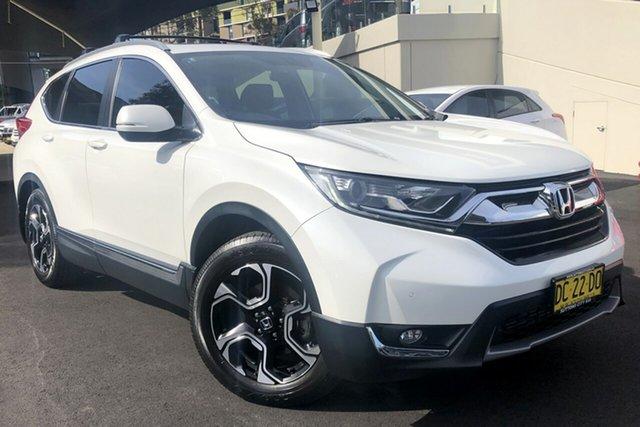 Used Honda CR-V RW MY18 VTi-L FWD Zetland, 2017 Honda CR-V RW MY18 VTi-L FWD White 1 Speed Constant Variable Wagon
