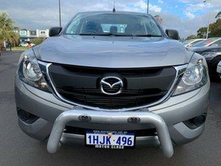 2016 Mazda BT-50 UR0YF1 XT Grey 6 Speed Sports Automatic Utility