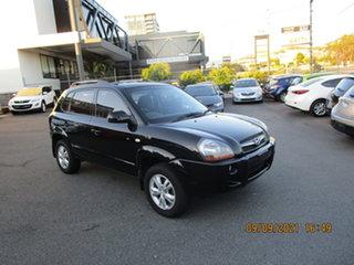 2009 Hyundai Tucson 08 Upgrade City Elite Black 4 Speed Automatic Wagon.
