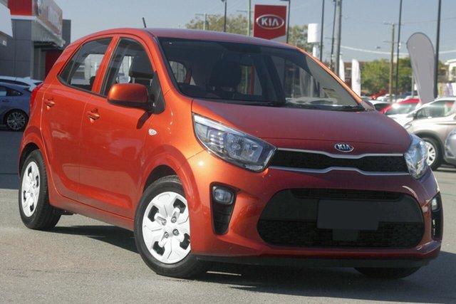 New Kia Picanto JA MY21 S Toowoomba, 2021 Kia Picanto JA MY21 S Pop Orange 4 Speed Automatic Hatchback