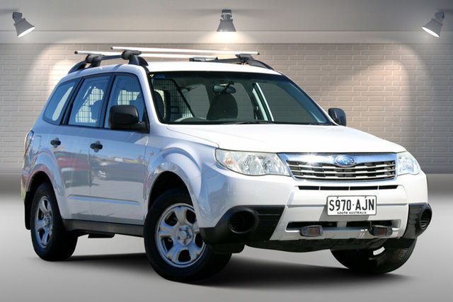 Used Subaru Forester 79V MY08 X AWD Gepps Cross, 2008 Subaru Forester 79V MY08 X AWD White 4 Speed Automatic Wagon