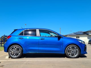 2021 Kia Rio YB MY21 GT-Line DCT Sporty Blue 7 Speed Sports Automatic Dual Clutch Hatchback.