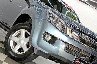 2016 Isuzu D-MAX TF MY15.5 LS-U HI-Ride (4x4) Grey 5 Speed Automatic Crew Cab Utility.