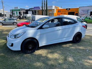 2015 Hyundai Accent RB2 MY15 Active White 6 Speed Manual Hatchback