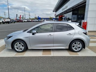2018 Toyota Corolla ZWE211R SX Hybrid Silver Pearl Continuous Variable Hatchback