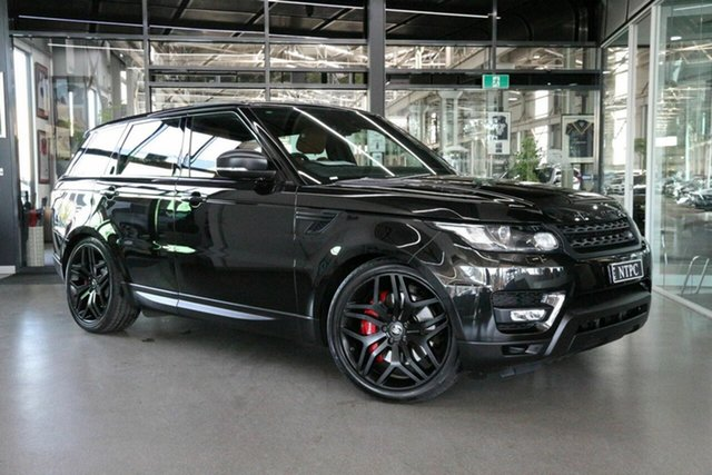 Used Land Rover Range Rover Sport L494 15.5MY SDV8 HSE Dynamic North Melbourne, 2015 Land Rover Range Rover Sport L494 15.5MY SDV8 HSE Dynamic Black 8 Speed Sports Automatic Wagon