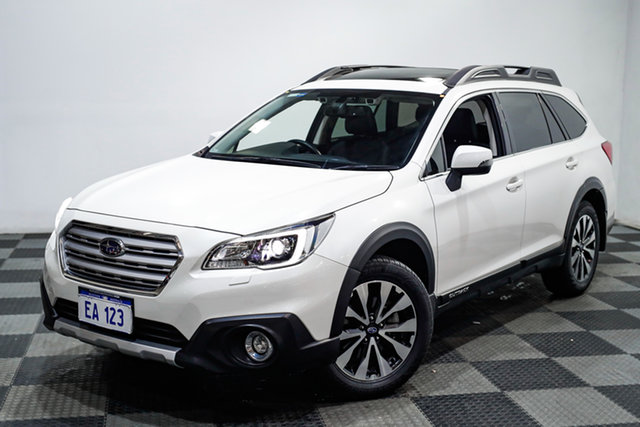 Used Subaru Outback B6A MY17 2.5i CVT AWD Premium Edgewater, 2017 Subaru Outback B6A MY17 2.5i CVT AWD Premium White 6 Speed Constant Variable Wagon