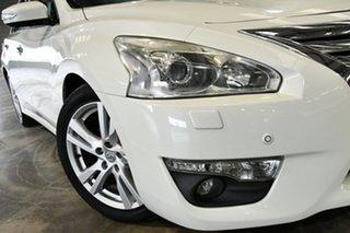 2014 Nissan Altima L33 Ti-S X-tronic White Diamond 1 Speed Constant Variable Sedan.