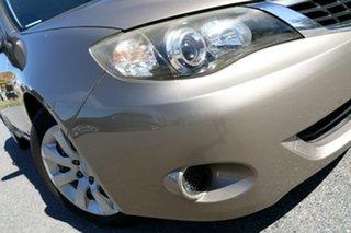 2007 Subaru Impreza S MY07 AWD Gold 4 Speed Automatic Hatchback.