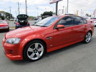2007 Holden Commodore VE SS V Orange 6 Speed Sports Automatic Sedan.
