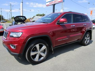2015 Jeep Grand Cherokee WK MY15 Limited Burgundy 8 Speed Sports Automatic Wagon.
