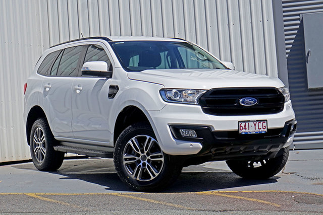 Used Ford Everest UA Trend Springwood, 2017 Ford Everest UA Trend White 6 Speed Sports Automatic SUV