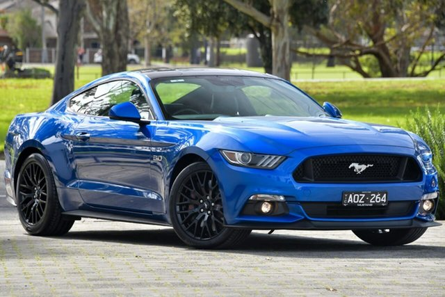 Used Ford Mustang FM 2017MY GT Fastback SelectShift Dandenong, 2017 Ford Mustang FM 2017MY GT Fastback SelectShift Blue 6 Speed Sports Automatic Fastback