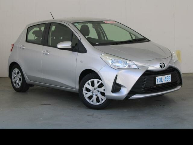 Used Toyota Yaris NCP130R MY18 Ascent Phillip, 2019 Toyota Yaris NCP130R MY18 Ascent Silver Pearl 4 Speed Automatic Hatchback