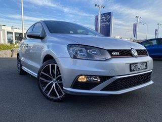 2015 Volkswagen Polo 6R MY16 GTI DSG Silver 7 Speed Sports Automatic Dual Clutch Hatchback.