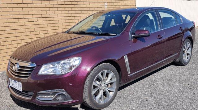 Used Holden Calais VF MY14 Horsham, 2013 Holden Calais VF MY14 Purple 6 Speed Sports Automatic Sedan