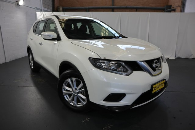 Used Nissan X-Trail T32 ST X-tronic 4WD Castle Hill, 2016 Nissan X-Trail T32 ST X-tronic 4WD White 7 Speed Constant Variable Wagon