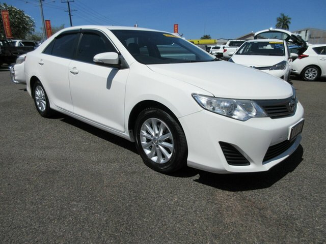 Used Toyota Camry Altise Winnellie, 2013 Toyota Camry Altise White 5 Speed Automatic Sedan