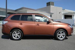 2013 Mitsubishi Outlander ZJ MY13 Aspire 4WD Bronze 6 Speed Constant Variable Wagon.