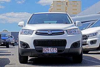 2012 Holden Captiva CG Series II MY12 7 SX White 6 Speed Sports Automatic Wagon.