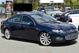 2012 Ford Falcon FG MK2 G6E Turbo Blue 6 Speed Automatic Sedan.